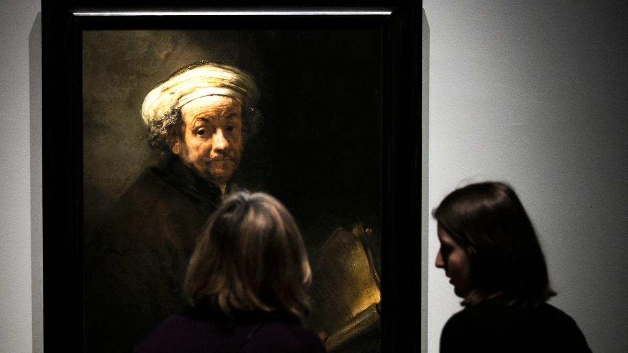 В Амстердаме показывают крупнейшую выставку работ Рембрандта