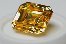 В Москве представили уникальные российские бриллианты