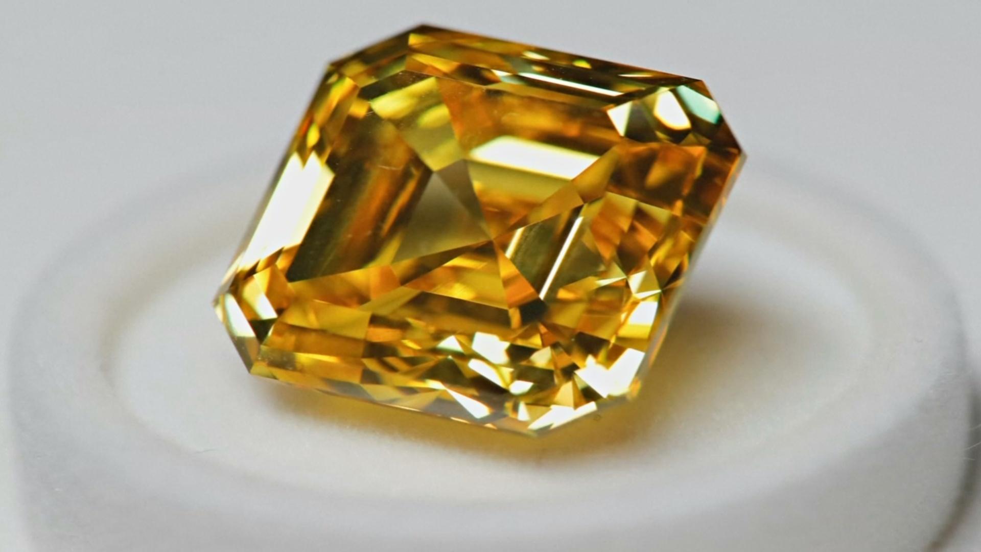 Уникальные бриллианты