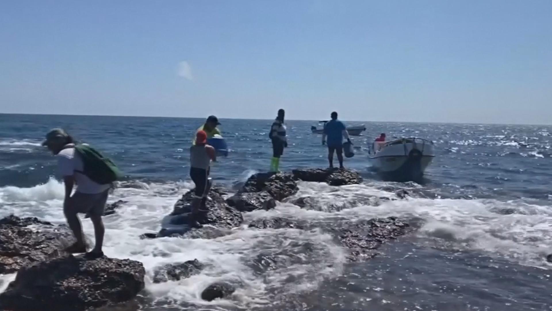 На Галапагосах собрали 4,5 тонны пластика и другого мусора