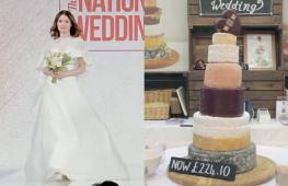 Свадебные тренды Великобритании: накидки, сыр и королевский стиль