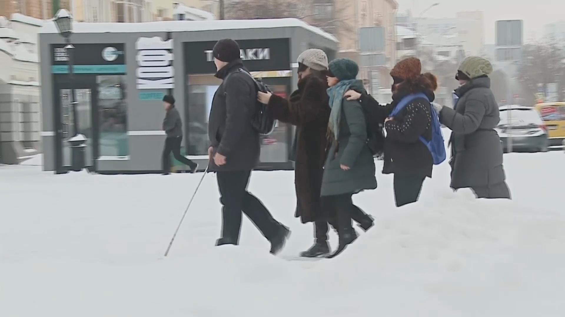 «Попутешествовать в темноте» с незрячим гидом можно в Екатеринбурге