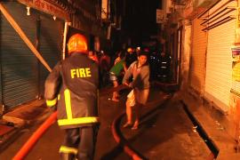 Число жертв пожара в Дакке возросло до 70