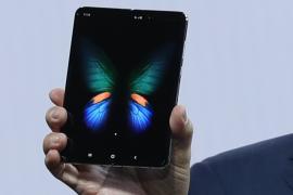 Samsung представил сгибающийся телефон для сети 5G стоимостью около $2000