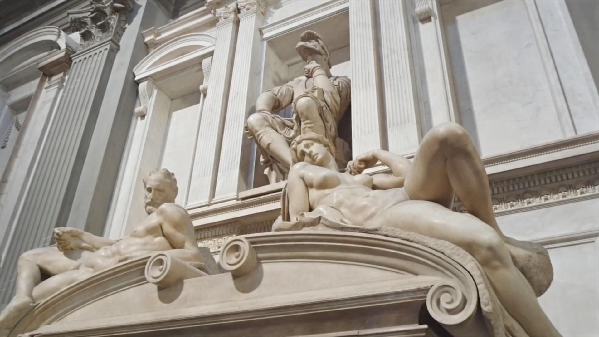 На шедевры Микеланджело в капелле Медичи можно взглянуть в новом свете