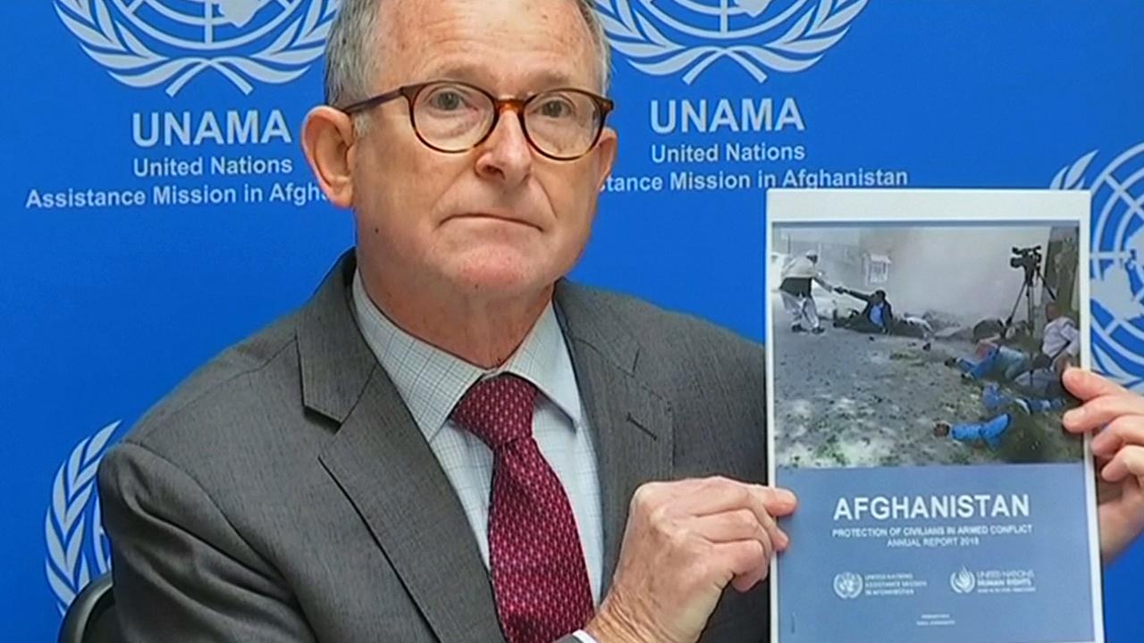 ООН: в Афганистане в 2018 году было убито 3800 мирных жителей
