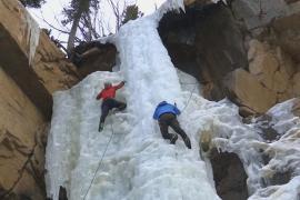 Американские альпинисты начинают увлекаться ледолазанием