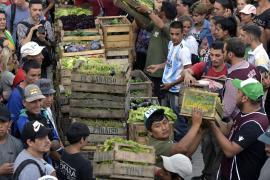 Аргентинские фермеры бесплатно раздавали овощи в знак протеста