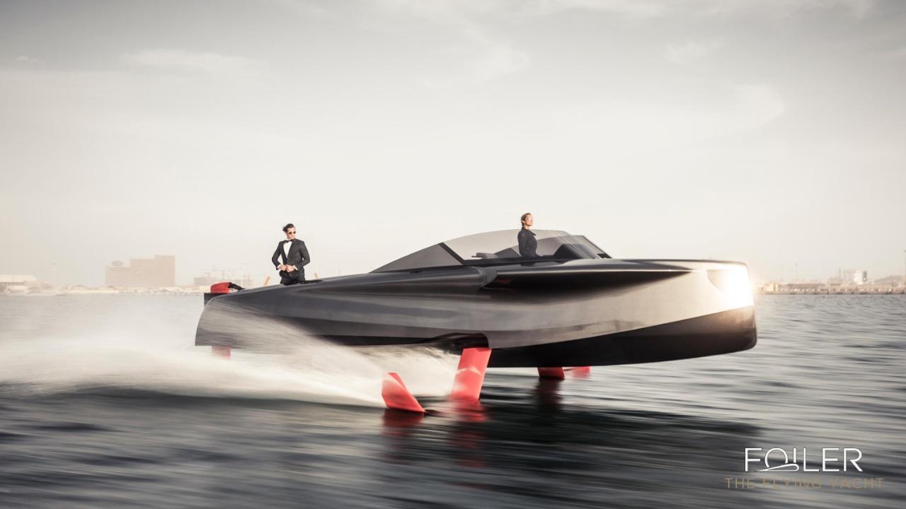 На выставке в Дубае представили «летающую яхту»