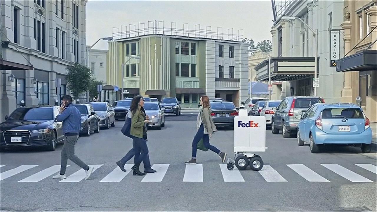 FedEx начинает испытания робота-курьера