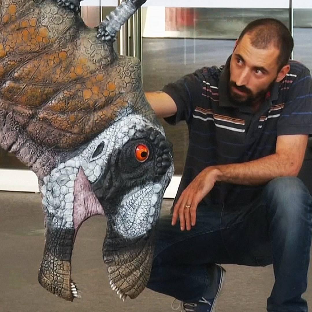 Динозавра с шипами на шее открыли в Аргентине