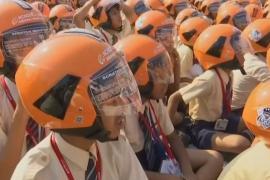Новый рекорд – почти 5000 человек в шлемах