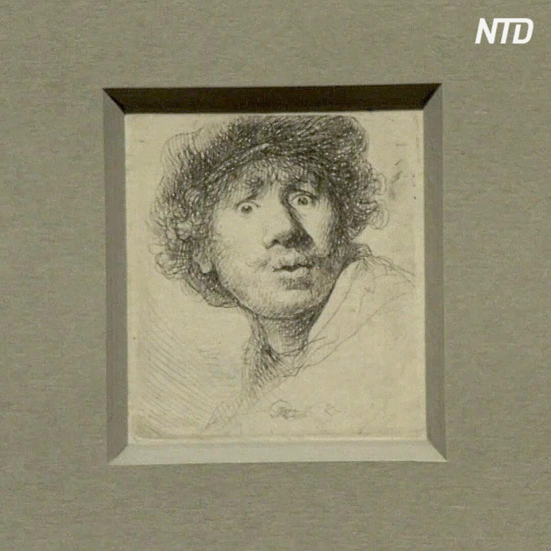 «Селфи» Рембрандта и многое другое показали в Амстердаме
