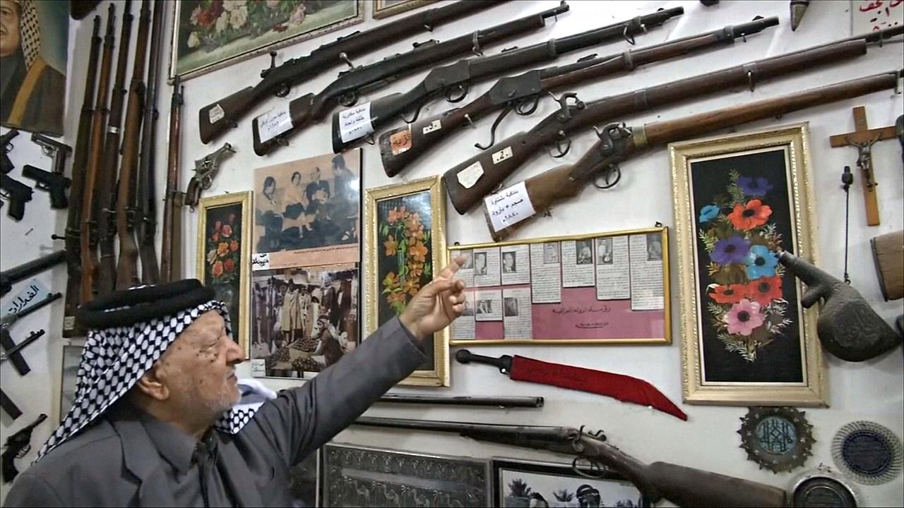 Иракский коллекционер за полвека собрал 1500 артефактов