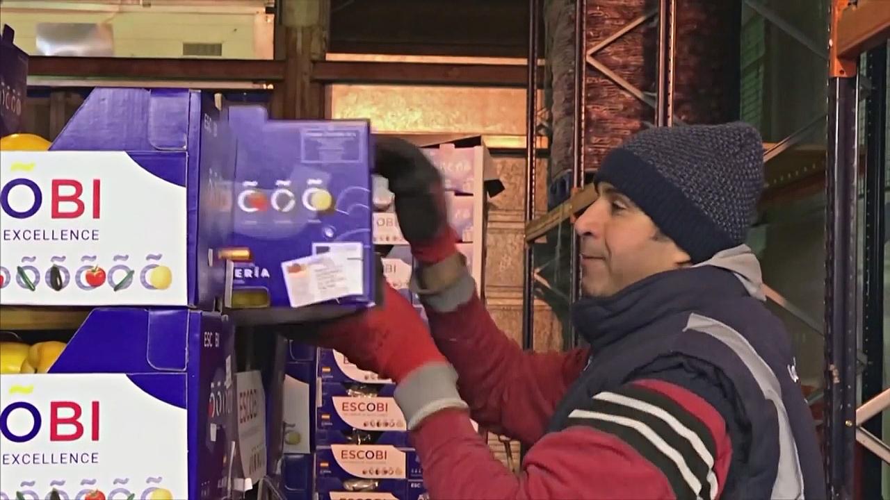 Продавцы на оптовом рынке Лондона – о жизни после «брексита»
