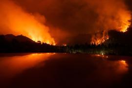 Лесные пожары обрушились на север Испании