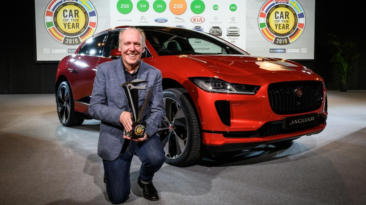Jaguar I-Pace победил в конкурсе «Европейский автомобиль года»