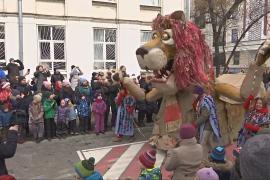 Масленица: школьники Москвы встречают весну