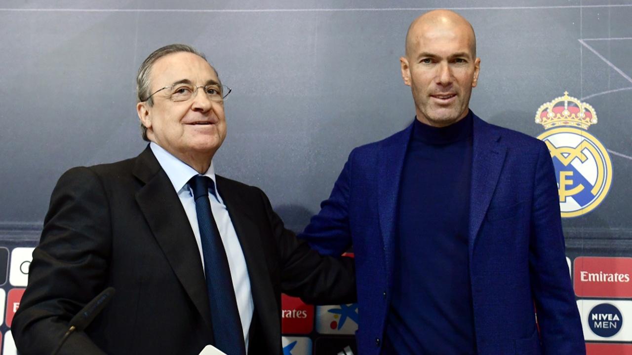 Зинедин Зидан снова будет тренировать «Реал Мадрид»