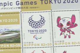 В Токио начали продавать марки, посвящённые Олимпиаде и Паралимпиаде 2020