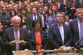 Британский парламент во второй раз отклонил соглашение по «брекситу»