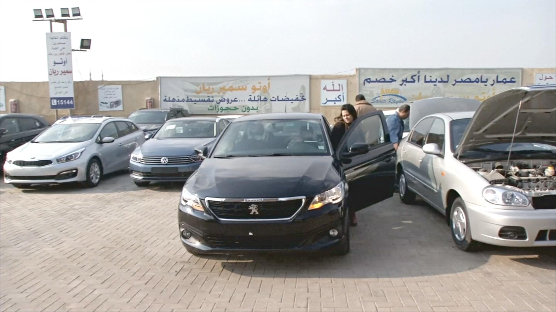 Египтяне не покупают автомобили, чтобы снизить цены