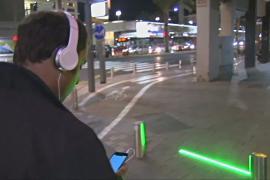 В Тель-Авиве появился светофор для смартфонозависимых