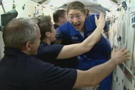 На МКС встретили экипаж корабля «Союз МС-12»