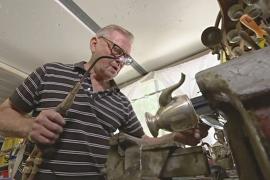 Реставратор металлических изделий ищет преемника, чтобы спасти ремесло