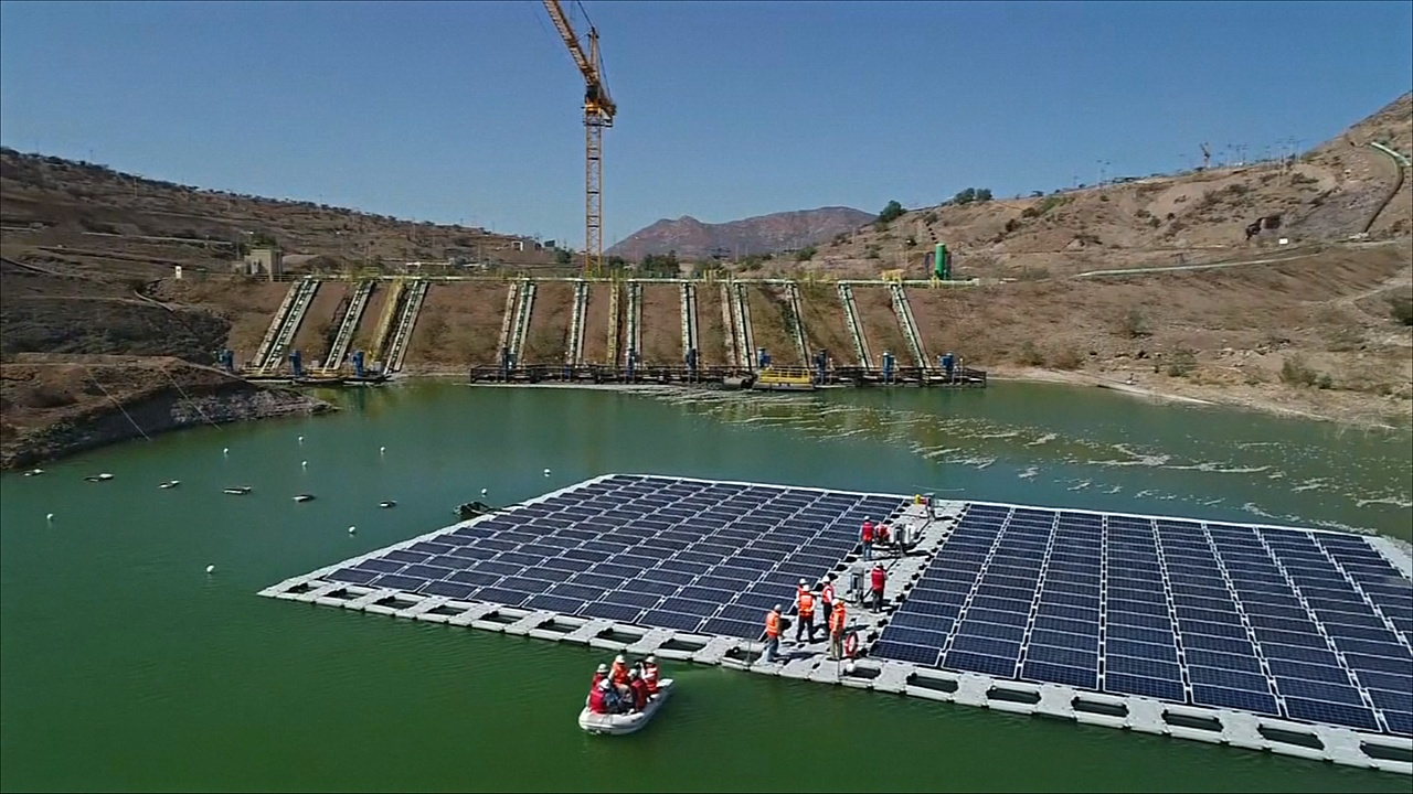 Отработанная вода на чилийском руднике помогает вырабатывать электричество