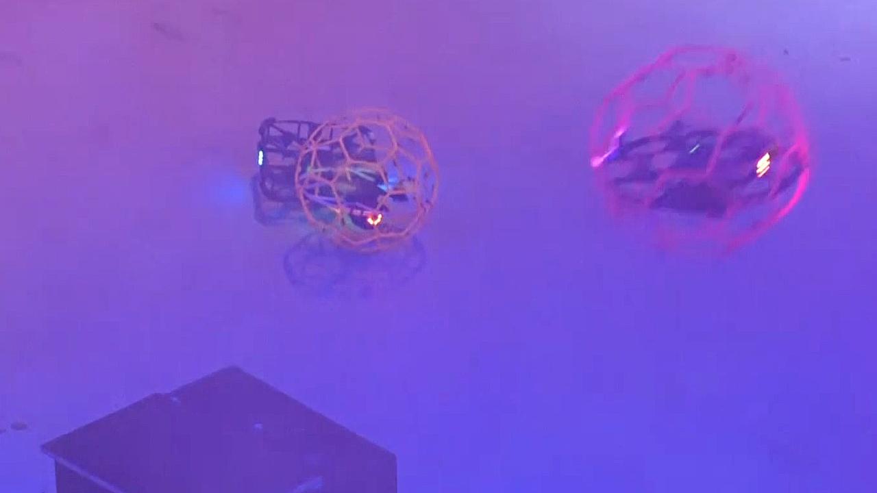Бои среди дронов провели в нидерландском Катвейке