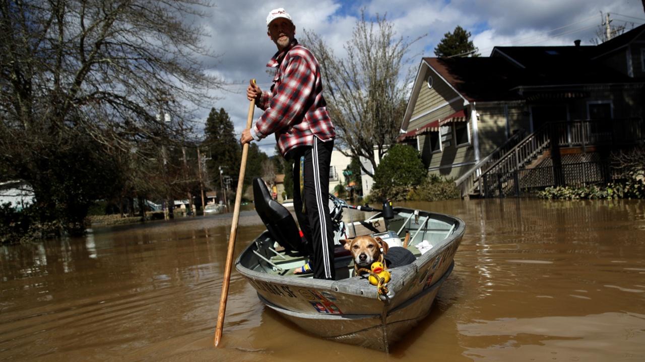 Катастрофические наводнения в США: четверо погибших