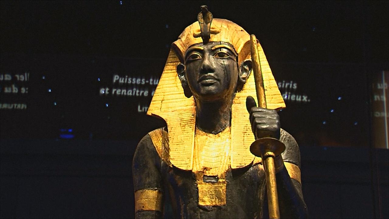 Впервые за пределами Египта: сокровища Тутанхамона представили в Париже