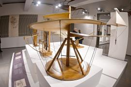 На выставке в Риме представили технический гений Леонардо да Винчи