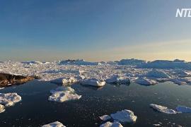 Гигантский ледник Гренландии растёт после десятилетий таяния