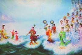 Выставка картин, вдохновлённая культурой Китая, открылась в Арзамасе
