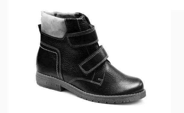 Ботинки Шаговита, цвет черный, материал кожа нат