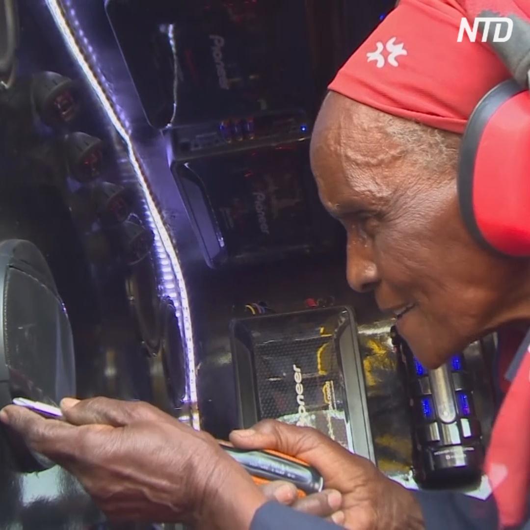 80-летняя кенийка создаёт стереосистемы для авто