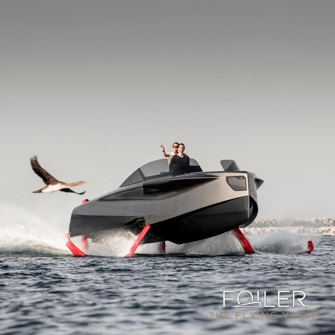 «Летающую яхту» показали в Дубае