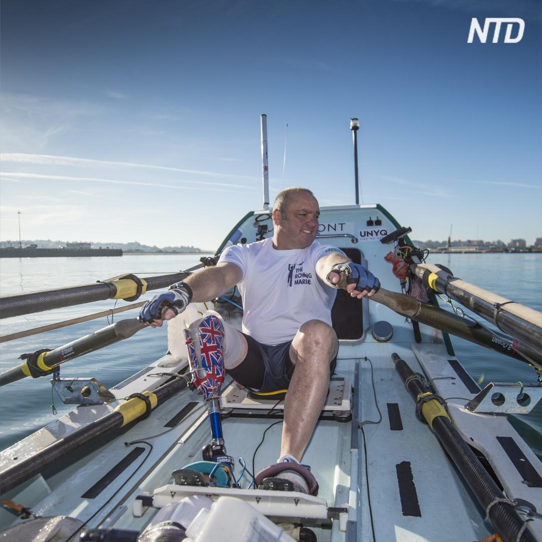 Рекорд: британец без ноги в одиночку пересёк океан на лодке