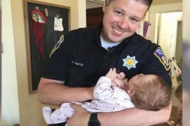 Полицейский удочерил ребёнка бездомной наркоманки