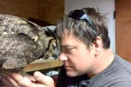 Как благодарит сова, которую спасли от смерти
