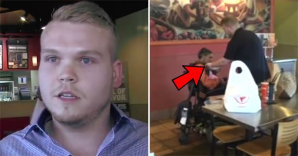 Сотрудник ресторана бросил работу, чтобы помочь клиентке