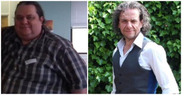 Британец сбросил более 100 кг за год: фото