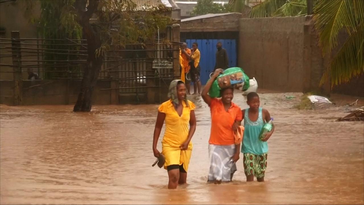 В Мозамбике продолжаются наводнения после нашествия циклона «Кеннет»