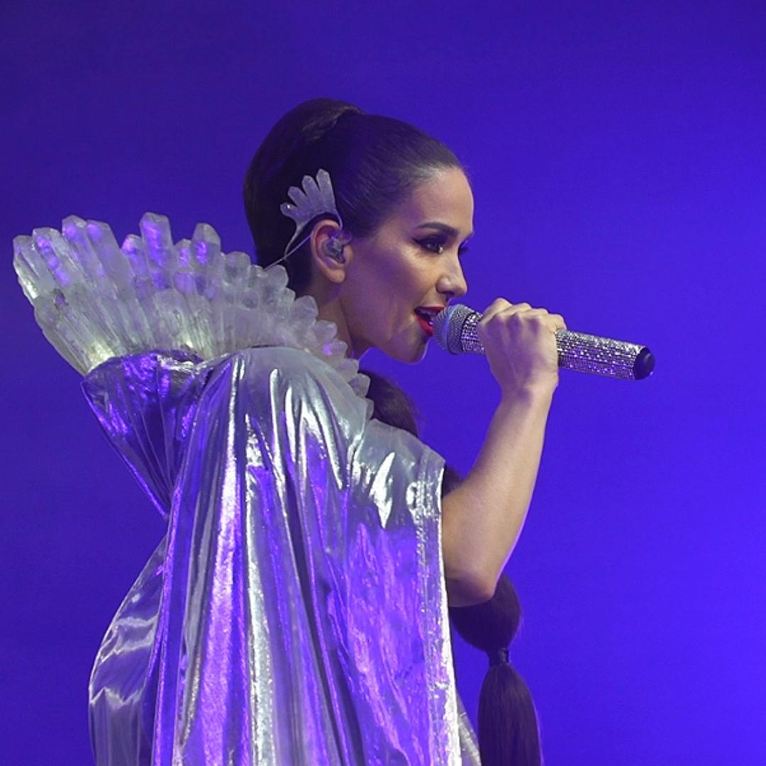 Наталья Орейро на гастролях в России