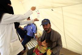 ООН: в Йемене холера распространяется с быстротой лесного пожара