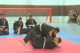 В Иордании слепых атлетов обучают боевому искусству джиу-джитсу