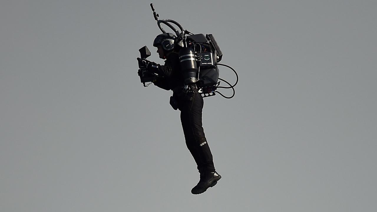 В Нью-Йорке испытали летающий костюм, напечатанный на 3D-принтере