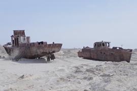 Аральское море стало меньше на 90%